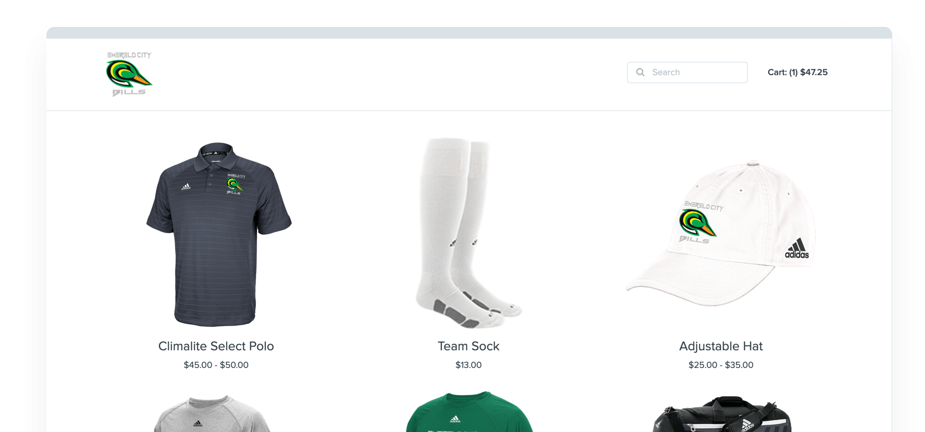Printavo Merch screenshot - Group ordering, company stores, fundraisers made easy